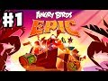 Angry Birds Epic - Gameplay Walkthrough Part 1 - Red and ...