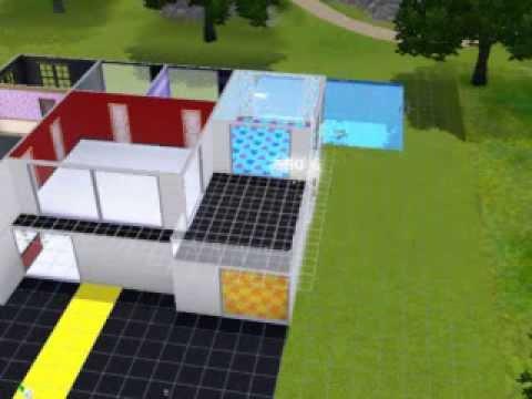 Tutorial sobre como hacer una casa moderna en los sims 3 for Casa moderna los sims 3