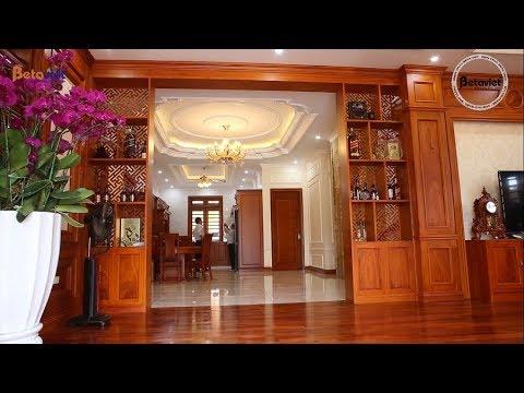 Biệt thự 3 tầng Tân cổ điển sang trọng nhà ông Nam - Nghệ An
