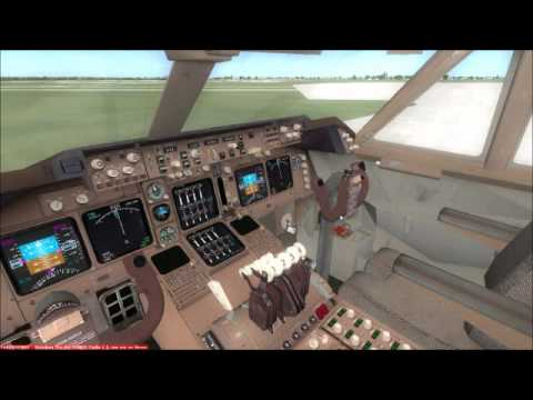 FSX Boeing 747 Real engines sounds
