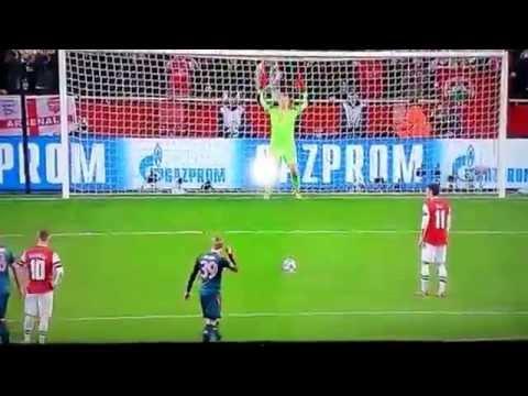 Manuel Neuer vs Mesut Özil - champions league - Arsenal - Bayern München