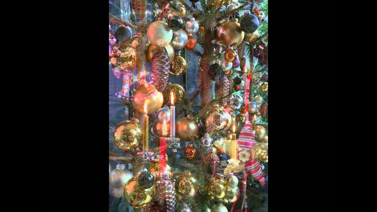 Dekoideen mit echten kerzen f r den weihnachtsbaum youtube - Dekoideen weihnachtsbaum ...