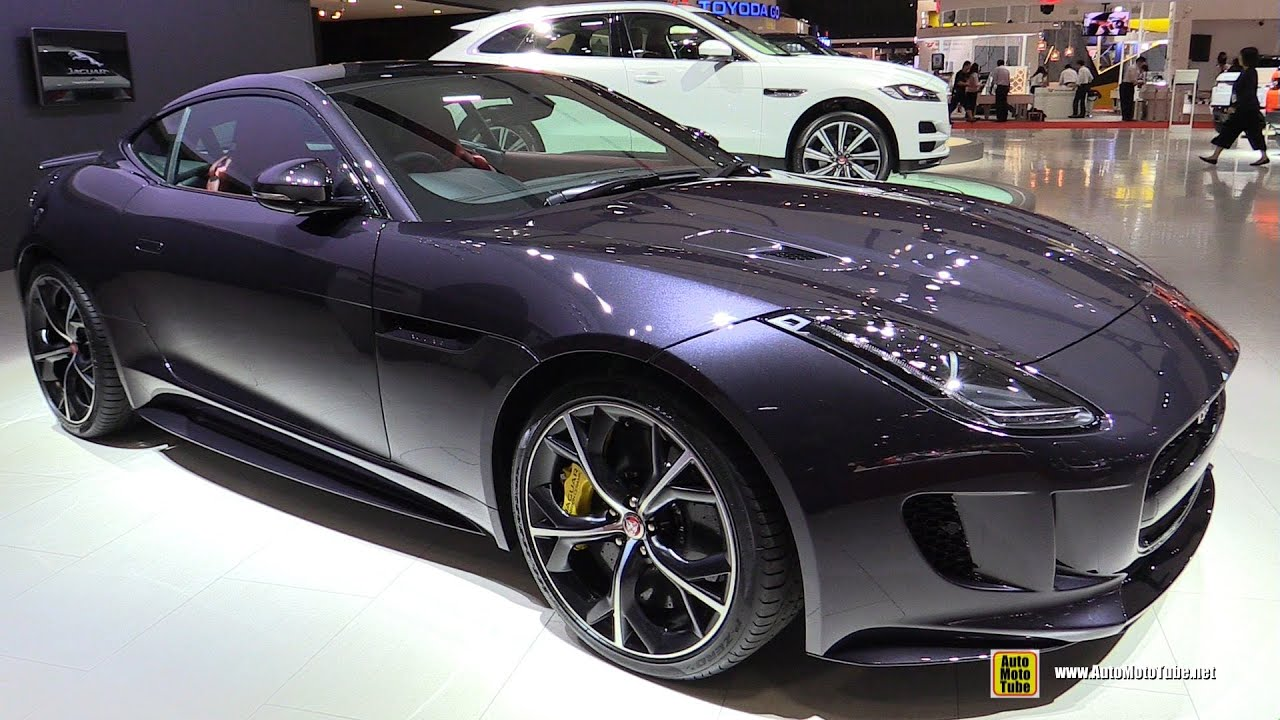 2016 Jaguar F Type R   Exterior And Interior Walkaround   2015 Tokyo Motor  Show   YouTube