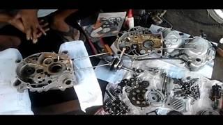 Tutorial Lengkap Pasang Mesin Motor Yamaha Zupiter Z Setelah Bongkar Habis