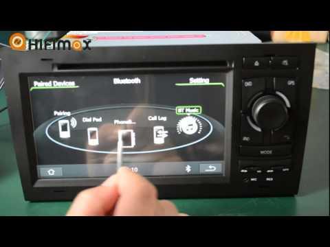 Hifimax Audi original UI for audi a4 gps navigation system