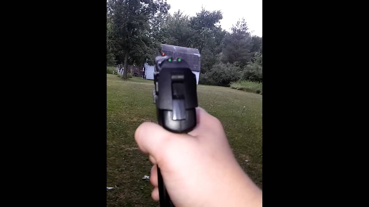 new airsoft gun ruger p345 co2 airsoft pistol youtube