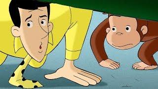 Jorge el Curioso   Jorge y el Hombre del Sombrero Amarillo Mejores Momentos Juntos   Caricaturas