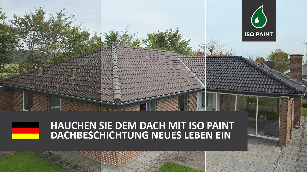 Beliebt Hauchen Sie dem Dach mit Iso Paint Dachbeschichtung neues Leben XL29