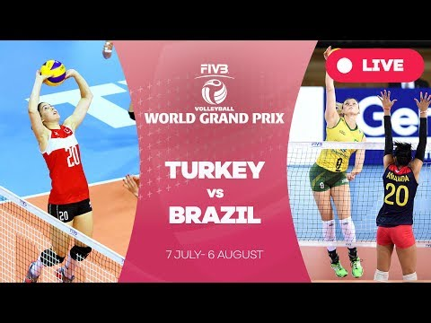 Turkey v Brazil - Group 1: 2017 FIVB Volleyball World Grand Prix