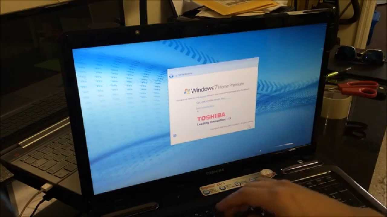 How to ║ Restore Reset a Toshiba Satellite to Factory Settings