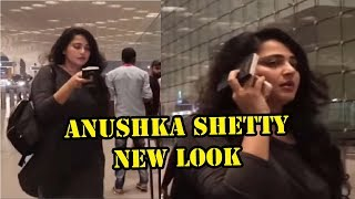 Anushka Shetty New Look || Anushka Shetty Spotted At Airport With Weight Gain
