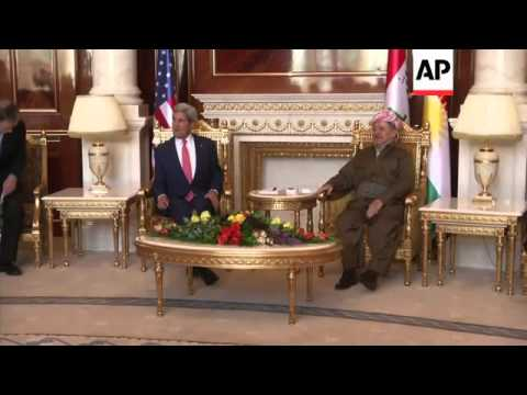 U.S. Secretary of State John Kerry returned to Iraq on Tuesday for the second day in a row, this tim