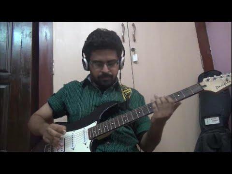 Kabali - Neruppu da intro guitar cover