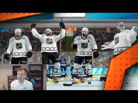 NHL 18 THREES - GOALIE CHALLENGE vs MANOFTHERITT