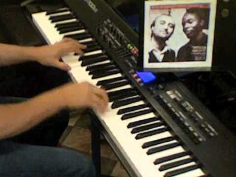 Phil Collins, Philip Bailey - Easy Lover (instrumental Cover On Piano)