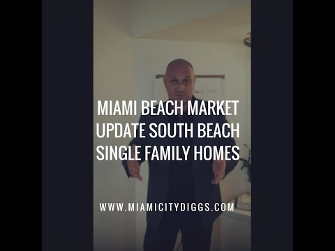 Miami Beach Market Update South Beach Single Family Homes