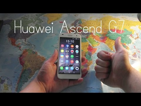 Huawei Ascend G7 English review and unboxing