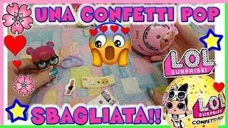 Baixar LOL SURPRISE SBAGLIATA!! confetti pop wave 2 Unboxing By Lara e Babou