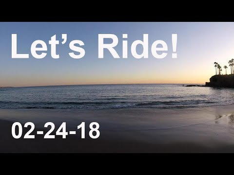 LET'S RIDE to Laguna Beach California 02-24-18 2004 BMW R 1150 GS Adventure motovlog