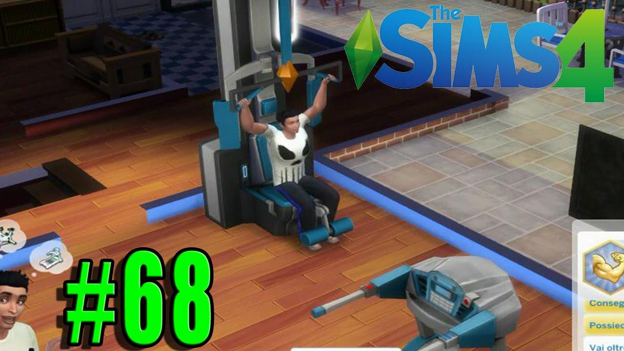 Sims Bambino Bagno : The sims 4 ita #68 nikkino diventa muscoloso gameplay ita youtube