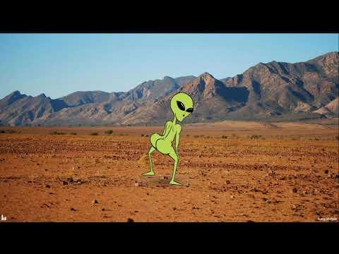 Alien Bailando perreo
