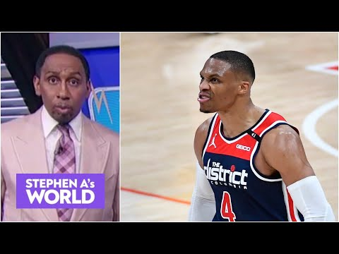 Stephen A reacts to a fan asking him if Russell Westbrook should join the Knicks | Stephen A's World