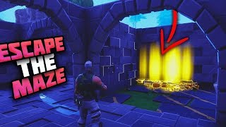 ESCAPE THE MAZE with Insane GUN REWARDS - Fortnite Save The World Xbox