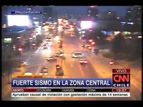 8 4 Magnitude Earthquake    Chile Tsunami Hawaii VIDEO 09 16 2015