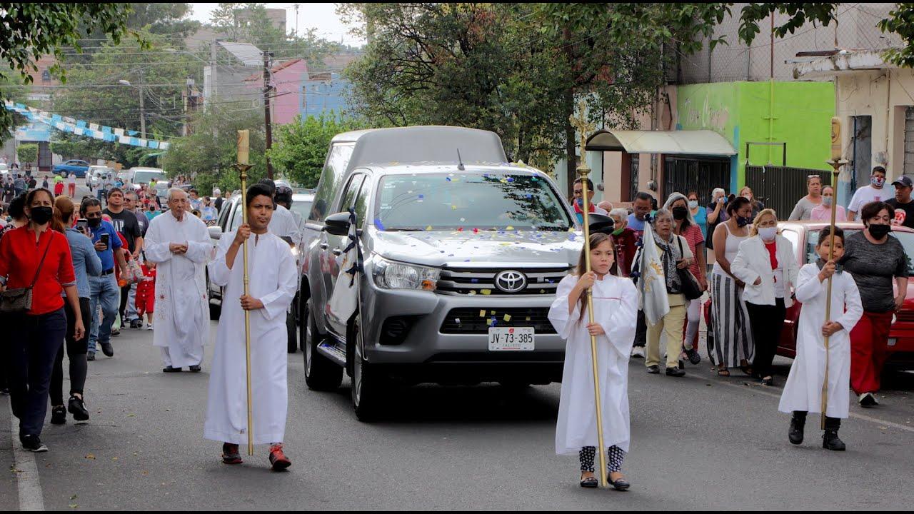 2020 Virgen de Zapopan visita Capellanía La Divina Providencia