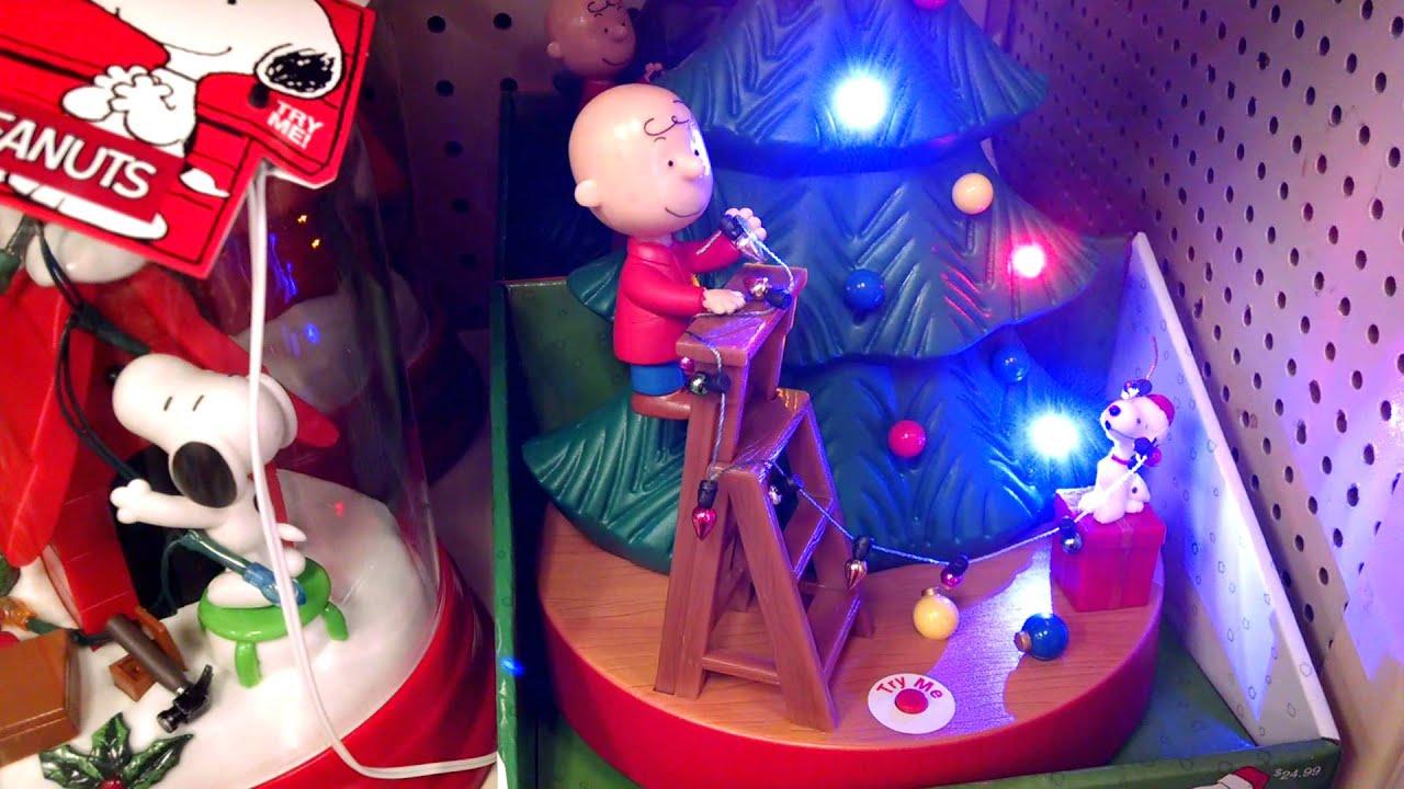 peanuts christmas tree toy