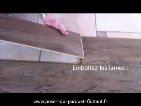 poser du parquet flottant stratifi youtube. Black Bedroom Furniture Sets. Home Design Ideas