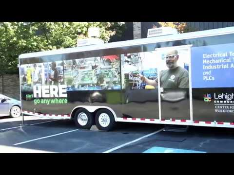 Lehigh Carbon Community College: Mobile Training Classroom