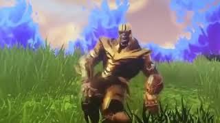 deleted scene of avengers infinity war dancing thanos emotes fortnite - thanos fortnite dab