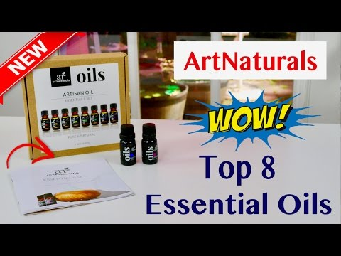 😍-artnaturals-❤️-aromatherapy-top-8-essential-oils---review-✅