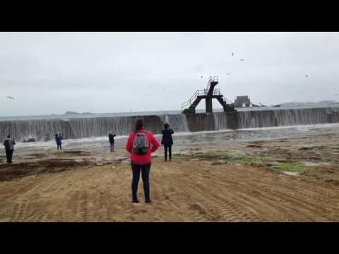 Saint Malo : Remplissage Piscine Bonsecours