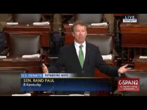 "RAND PAUL ""MORE WAR WITH NO DEBATE"" March 27, 2017"
