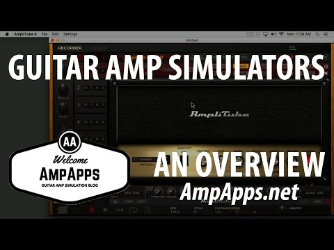 A Look at IK Amplitube 4 and Sims in General