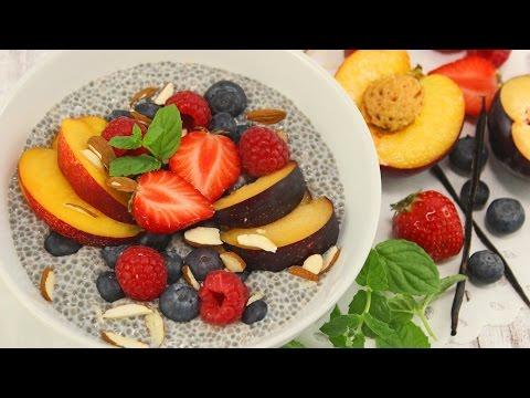 Chia-Pudding | Power-Frühstück | vegan & sehr gesund