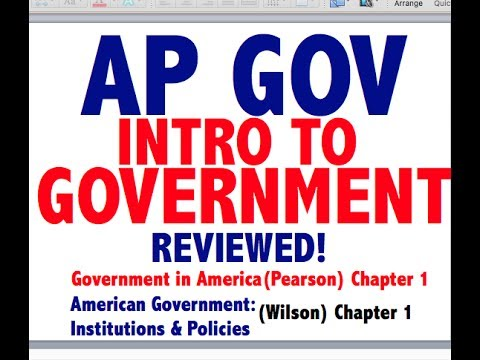 AP GOV Explained: Government In America Chapter 1