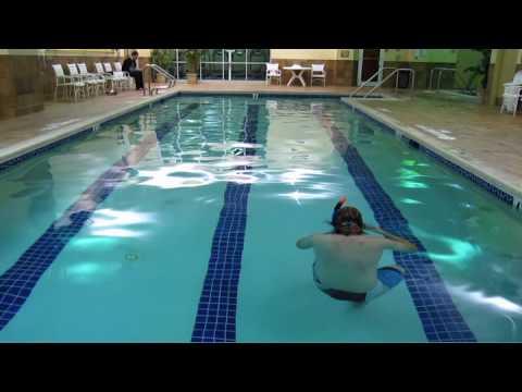 Chris Dudley Underwater Challenge
