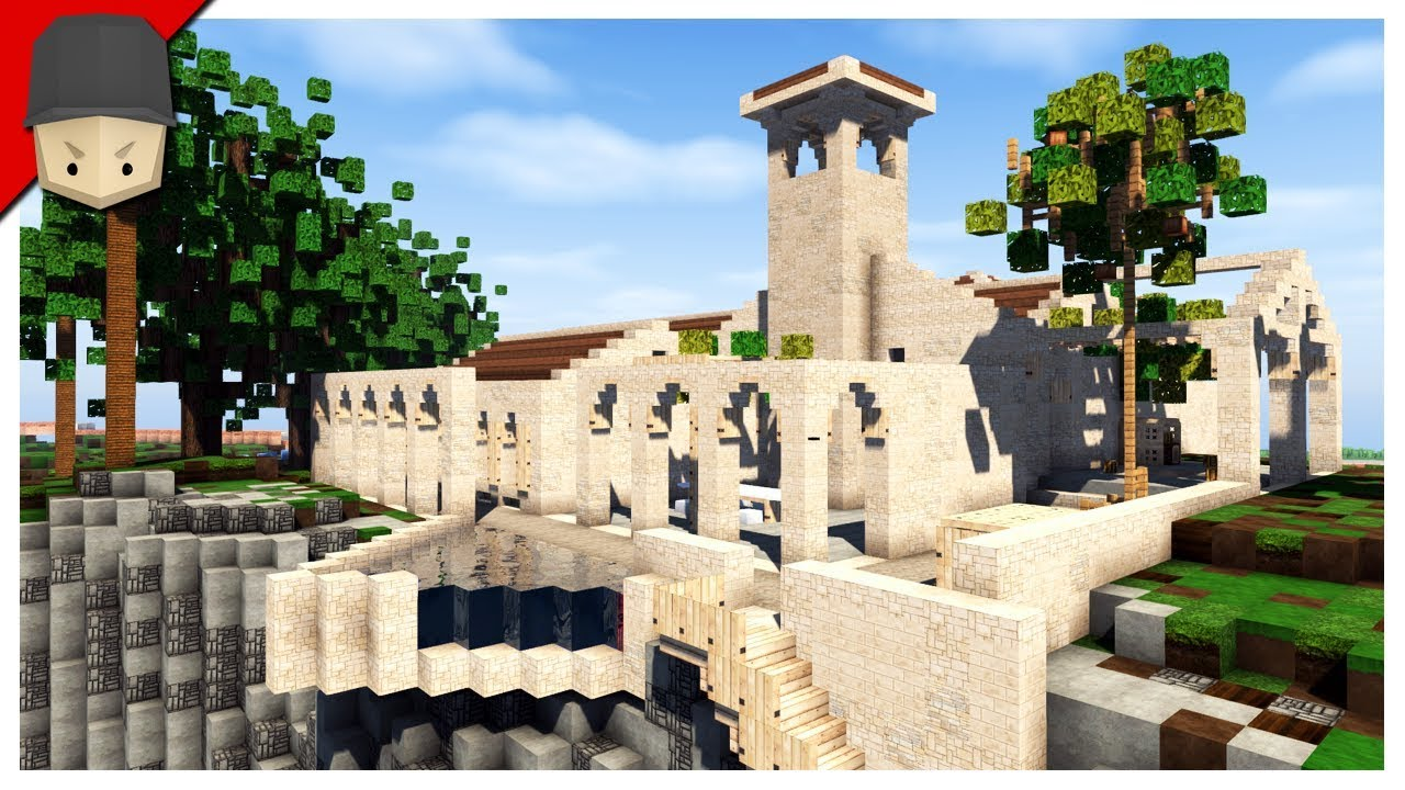 Minecraft Spanish Villa Youtube