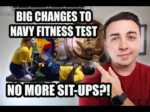 NEW U.S. NAVY FITNESS TEST FOR 2020?!