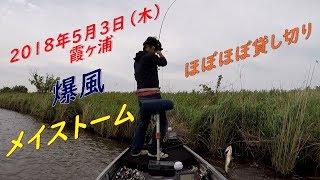 メイストーム(5月の嵐)に期待して霞ヶ浦に浮いてきました。 ちょっと遅...