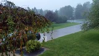 Дождь в Цинциннати,  Ohio USA