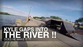 KYLE GAPS INTO THE RIVER !!!! The Show Must Roll On: Episode 10 - Steamboat Days - Part 2