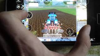 farming simulator 2015 gameplay android(galaxy s5)fs 2011 map