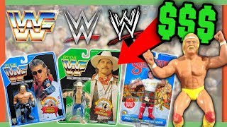 RARE WRESTLING FIGURES WORTH MONEY - WWE TOYS WORTH A FORTUNE!!