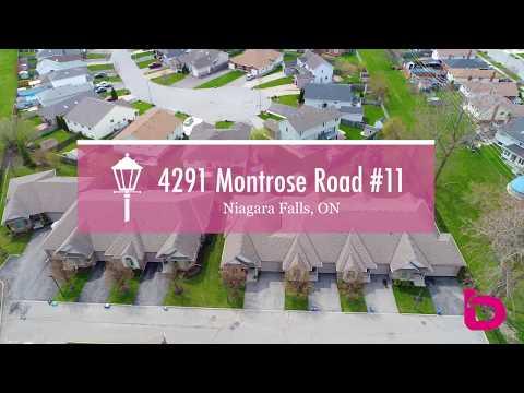 4291 Montrose Road #11 - Bungalow Townhome In Niagara Falls