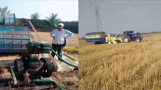 भारत कृषि 2018 गेहूं सीजन वीडियो II Work in India agriculture 2018 Wheat Season Video
