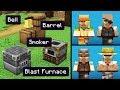 NEW VILLAGERS & Block CHANGES! (Minecraft 1.14 Snapshot Update 18w50a)